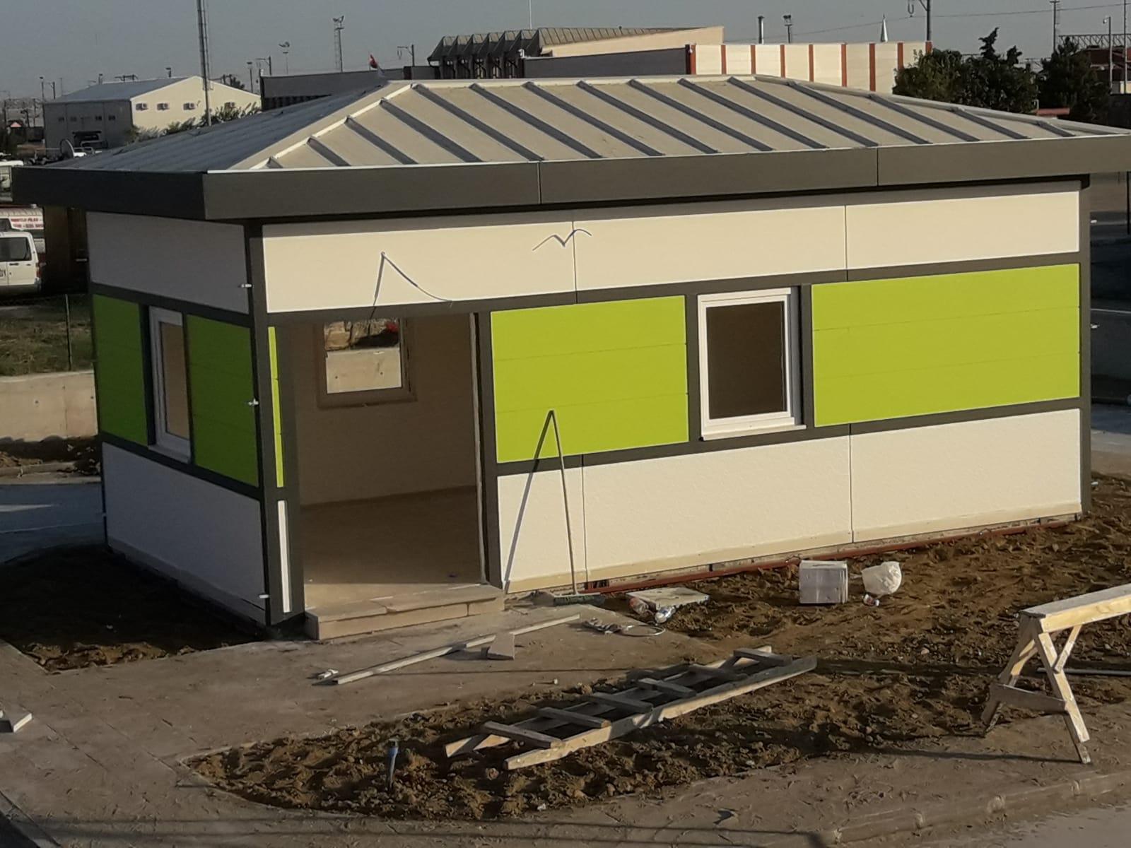 Edirne Bölge Trafik Eğitim Alanı Binaları